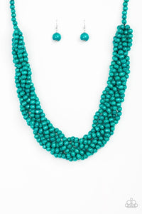 Tahiti Tropic - Blue/Turquoise: Paparazzi Accessories - Jewels N' Thingz Boutique