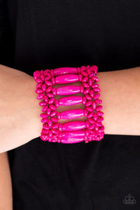 Barbados Beach Club - Pink: Paparazzi Accessories - Jewels N' Thingz Boutique