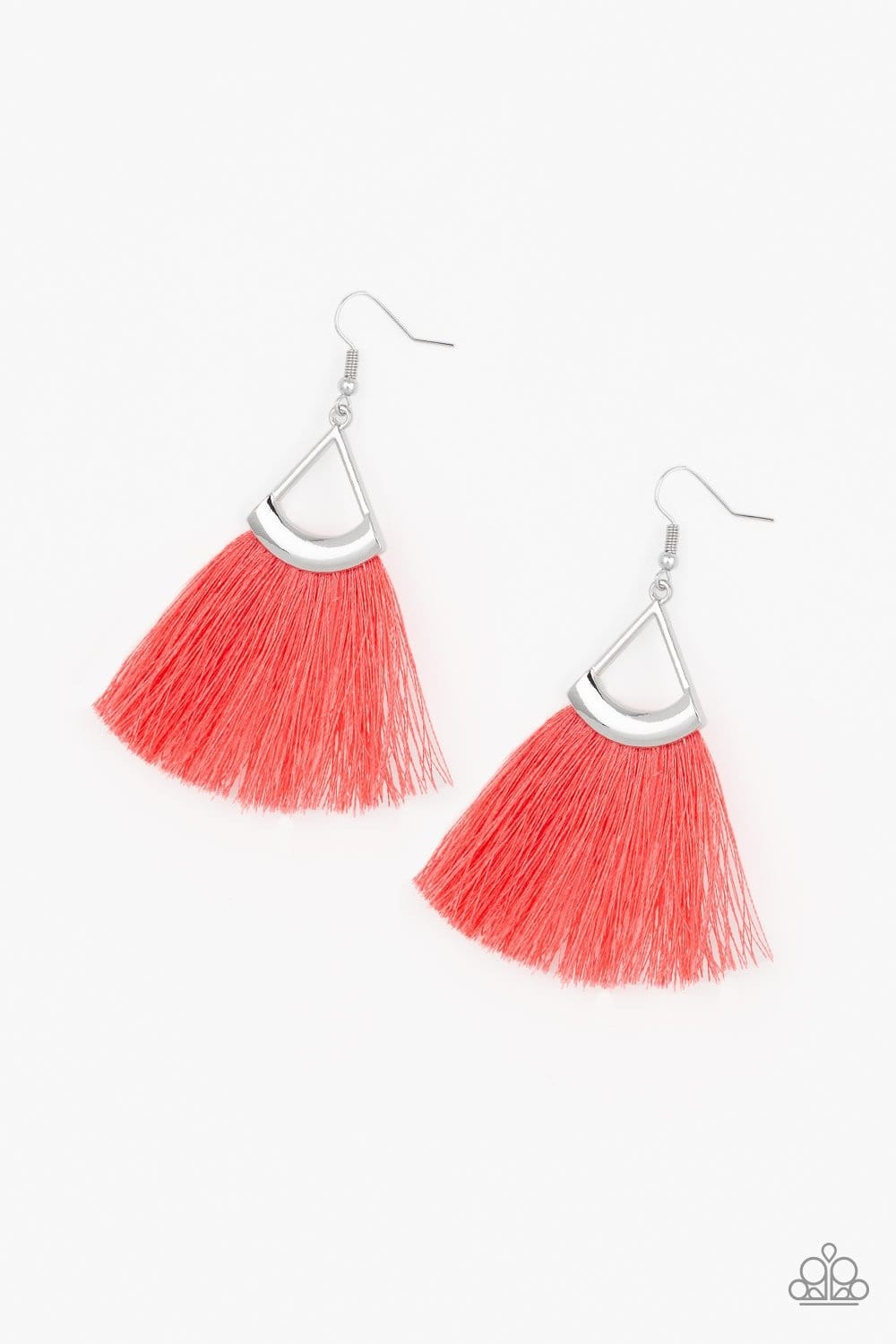 Tassel Tuesdays - Orange: Paparazzi Accessories - Jewels N' Thingz Boutique