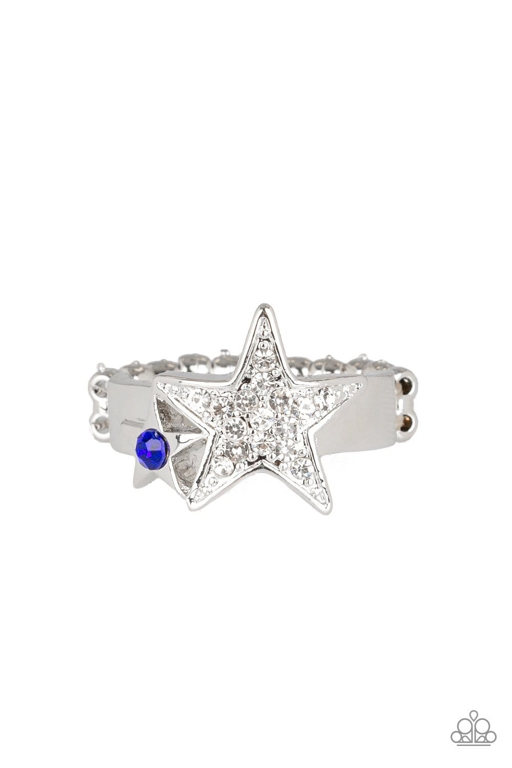 Star-Spangled Starlet - Blue: Paparazzi Accessories - Jewels N' Thingz Boutique