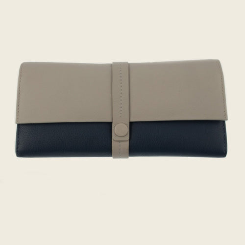 Dents 23-3222 Off White/Navy Wallet