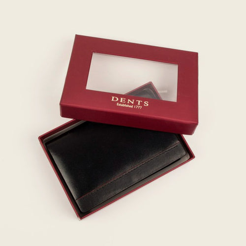 Dents 23-5196 Black/Red Wallet