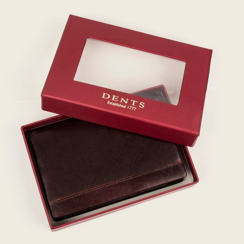 Dents 23-5196 Chocolate/Orange Wallet