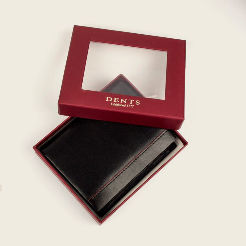 Dents 23-5198 Black/Red Wallet