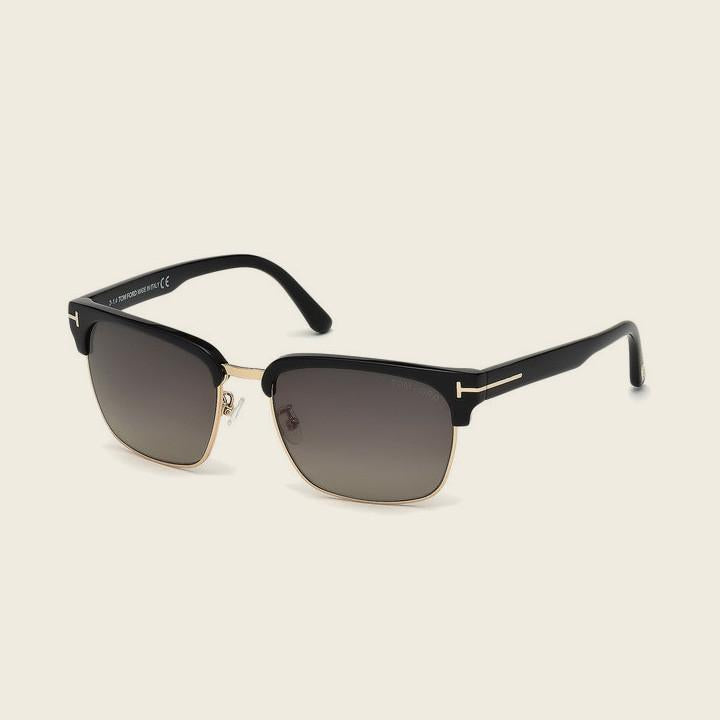 Tom Ford FT0367 01D RIVER Sunglasses