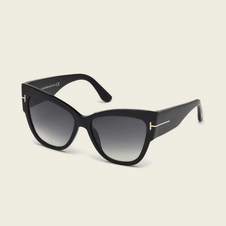 Tom Ford FT0371 01B ANOUSHKA Sunglasses