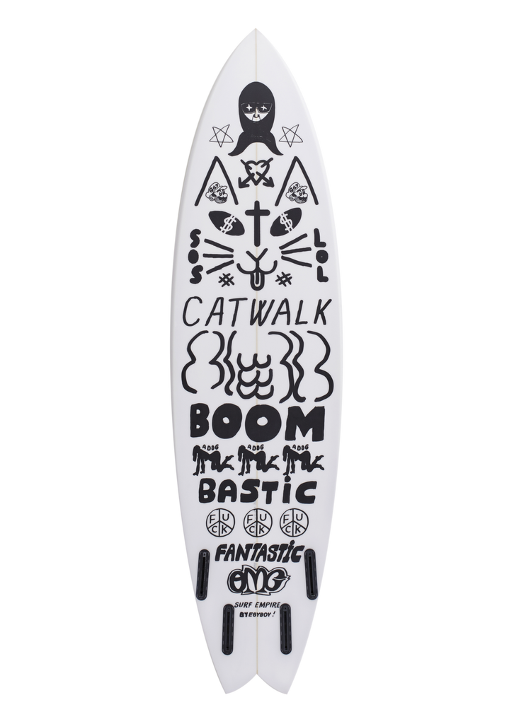 Surf Empire Swallow Tail 6'8""