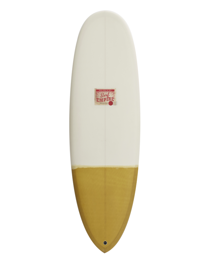Round Nose Pin Cream Tan 5'10""