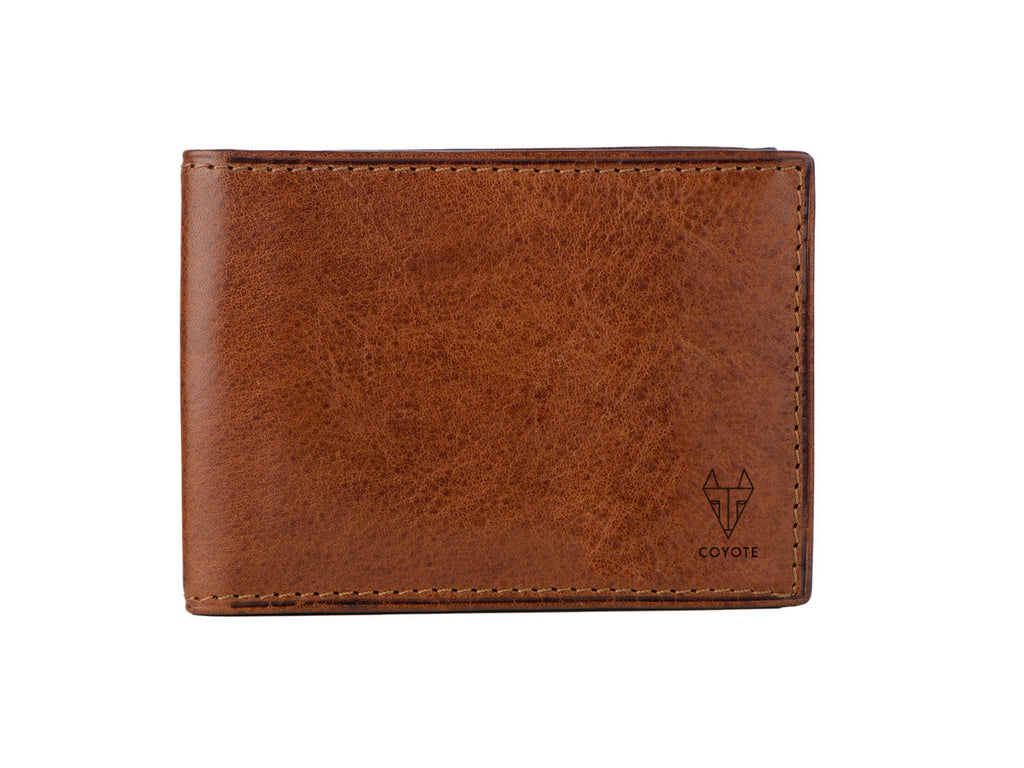 Coyote Leather Wallet
