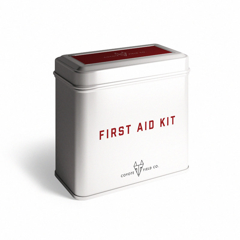 Metal First Aid Kit
