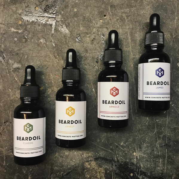 Beard Oils Concrete Matter