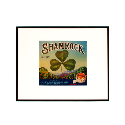 Shamrock Fruitlabel