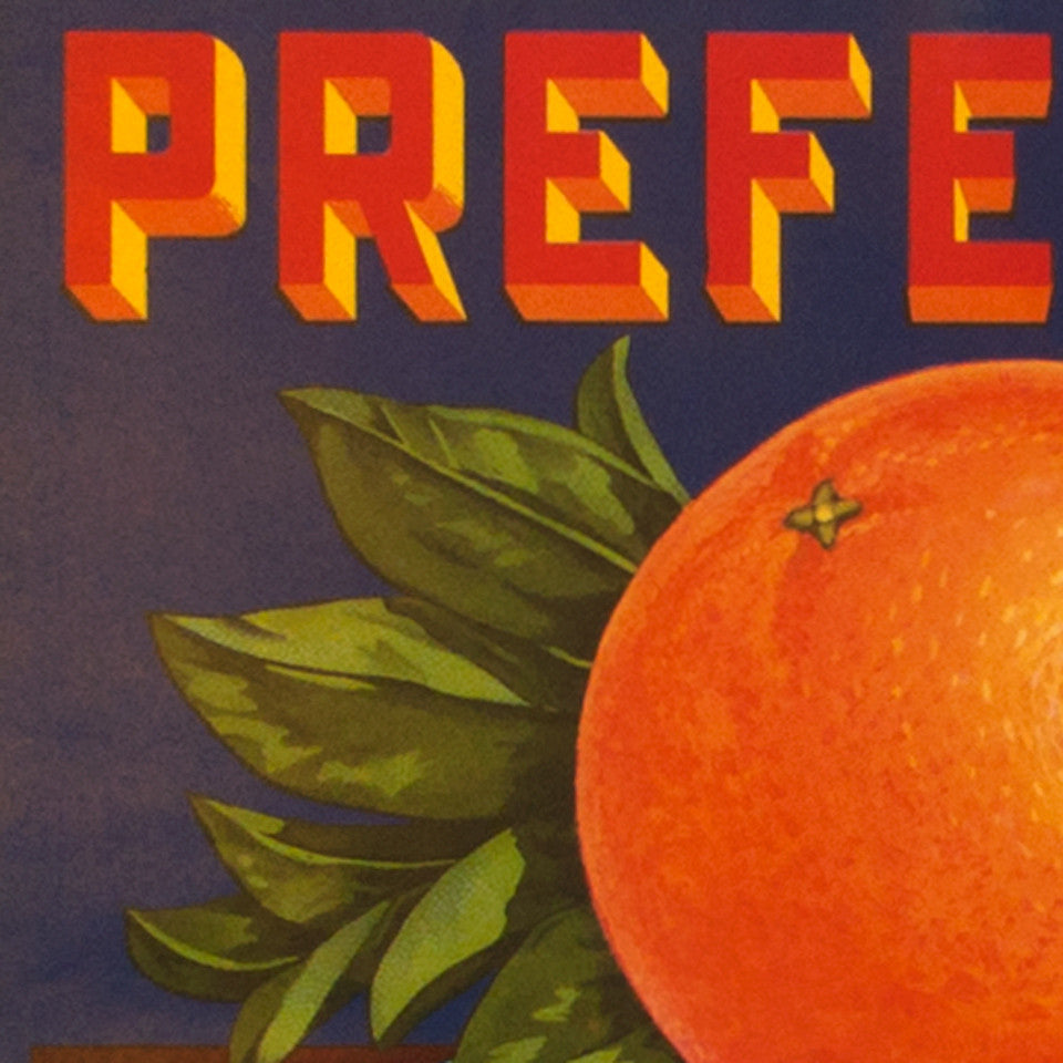 Preferred Fruitlabel