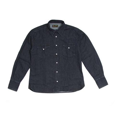 1952 Rider Shirt Blue Denim