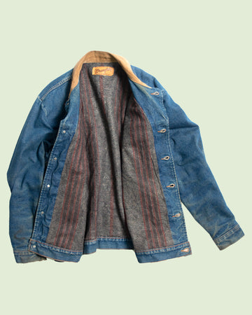 No. 1 Wrangler Denim Jacket Blanket Liner (L)