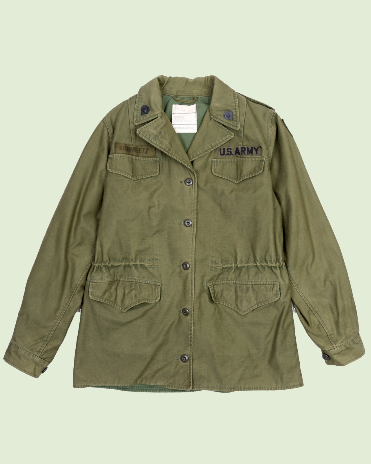 US Army OG-107 Coat Women (L)