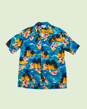 Hawaii Shirt Pacific Legend blue sunset (XL)