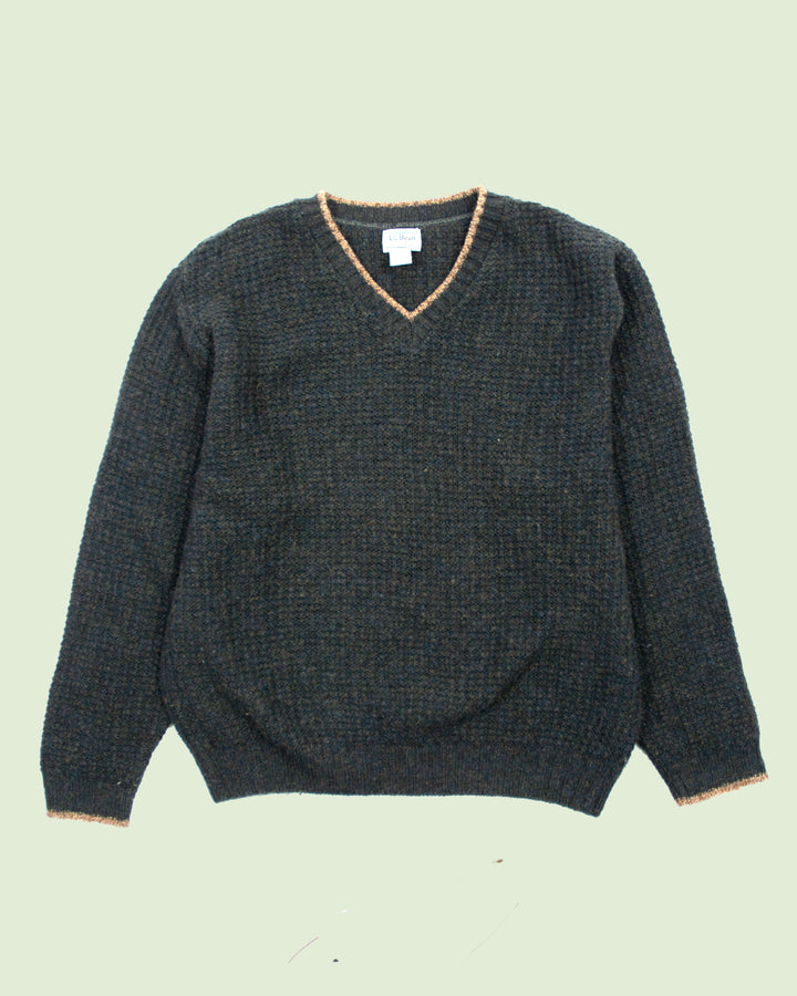 LL Bean Knitted Sweater (M)