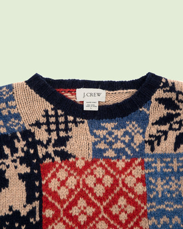 J Crew Knitted Sweater (XL)