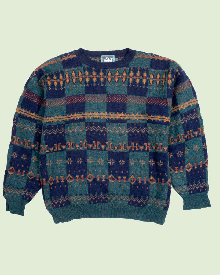 Woolrich Patterned Sweater (L)