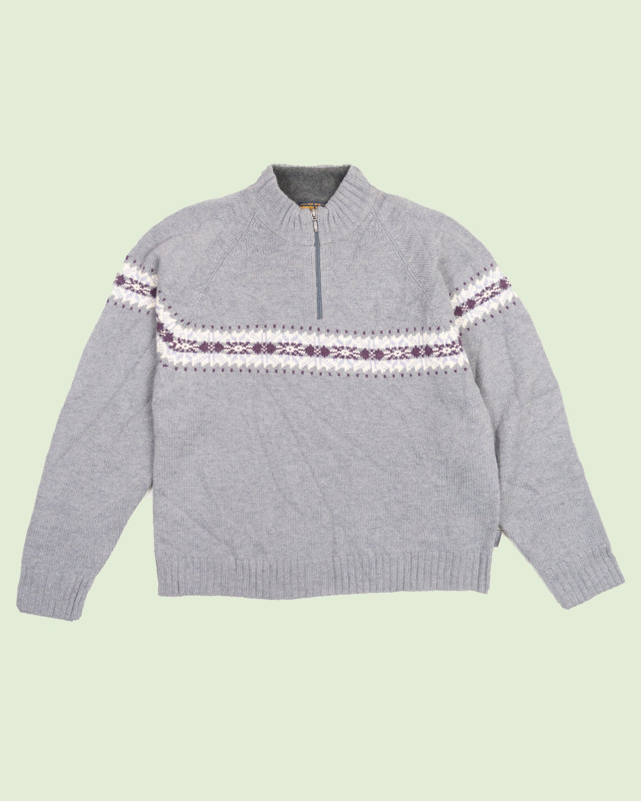 Woolrich Wool Grey Sweater (M)