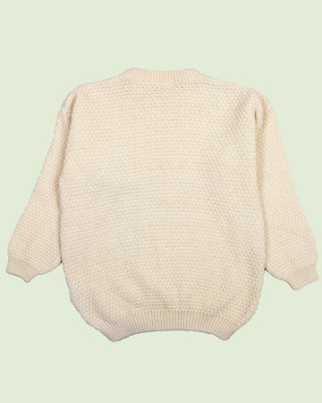 Highland Home Cable Sweater (L)