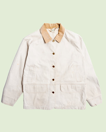 LL Bean Womens Hunting Jacket  White (S)