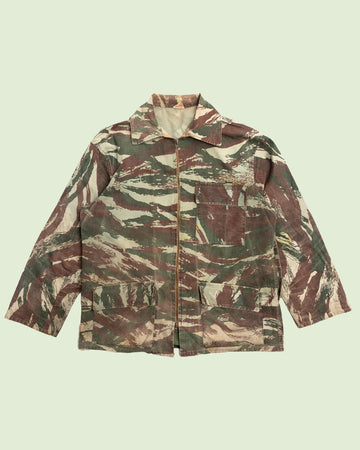 French Lizzard Camo Hunting Jacket (L)