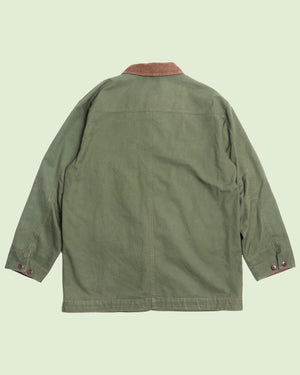 LL Bean Forest Green Hunting Jacket (L)