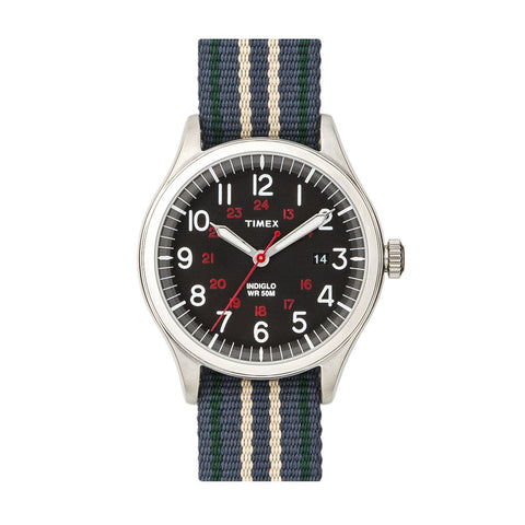Timex Archive Waterbury Black Grey