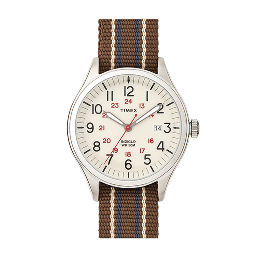 Timex Archive Waterbury Creme Bruin