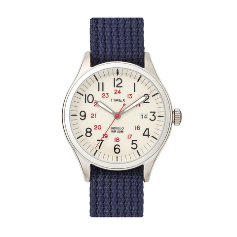 Timex Archive Waterbury Creme Blue