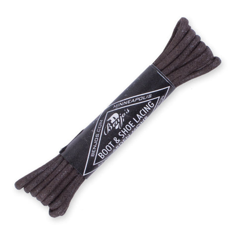 Benjo's Shoe Laces - Brown 27""