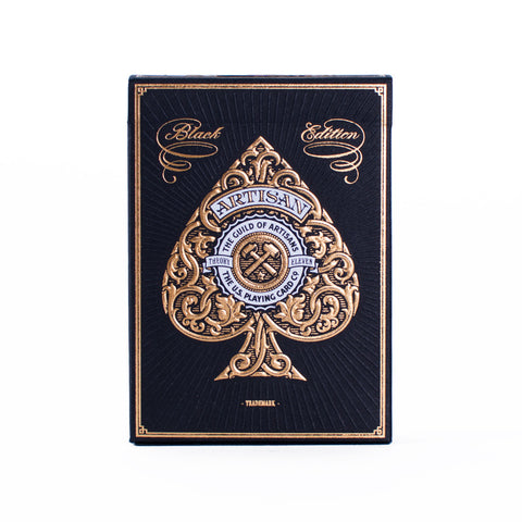 Playing Cards Artisan Black
