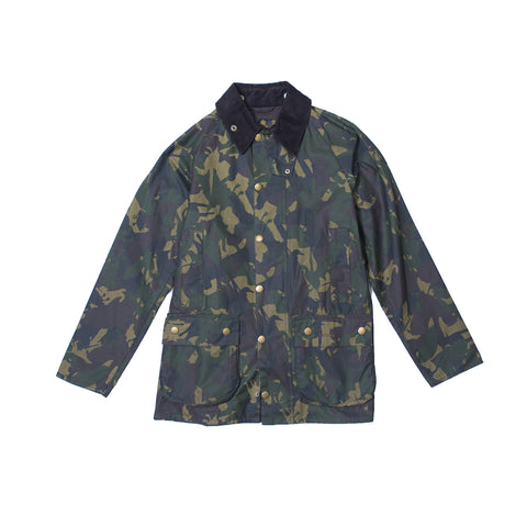 Barbour Camo Wax Coat