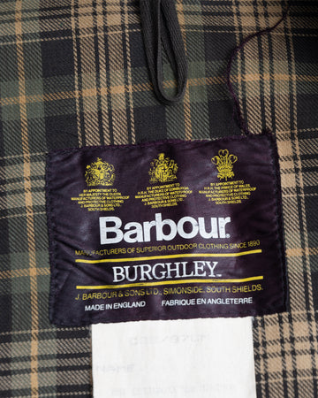 Barbour Long Wax Coat (M)