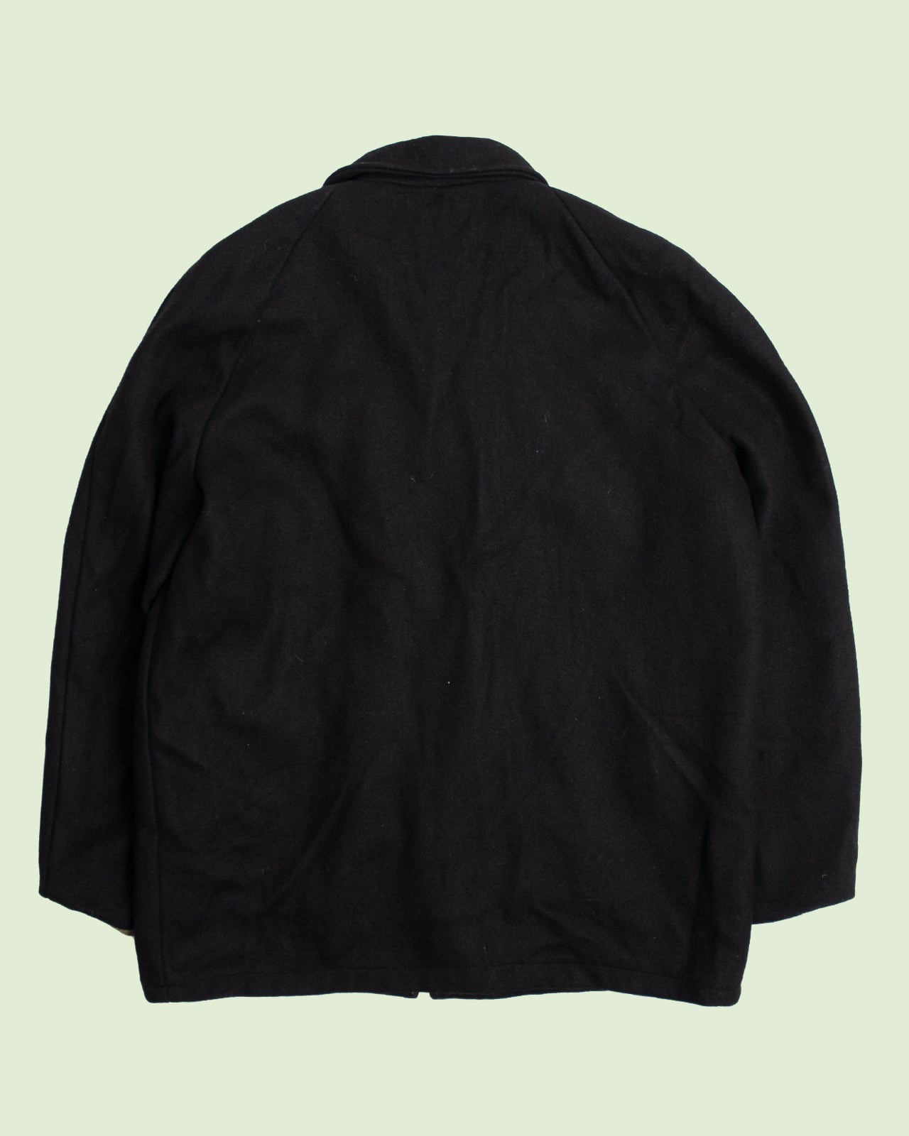 Black Football Varsity Jacket (L)