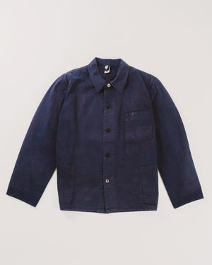 Dark Blue Workers Jacket