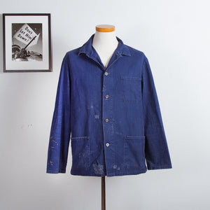 Stitched Blue Work Jacket