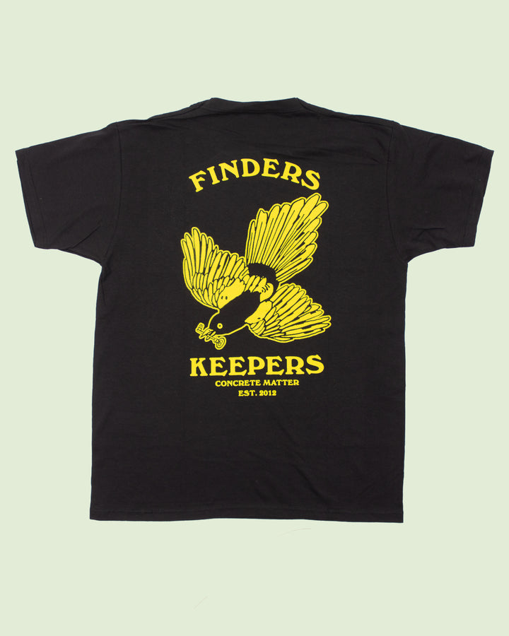 CM Finders Keepers T-shirt Black