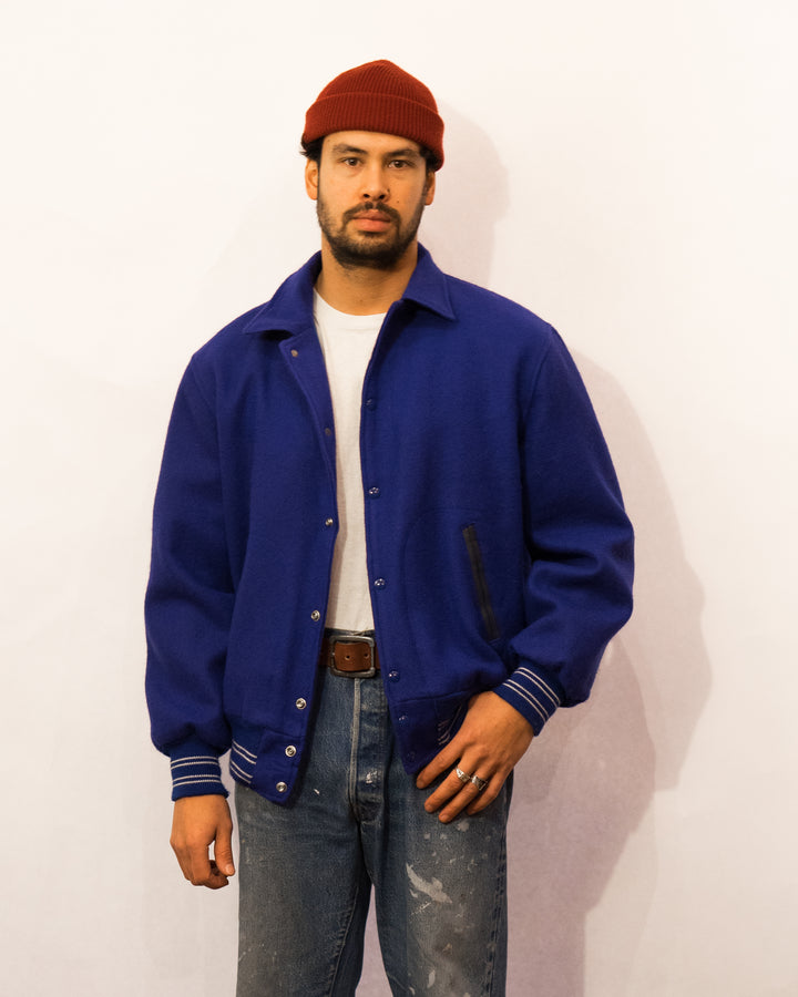Butwin Blue Varsity Jacket (XL)