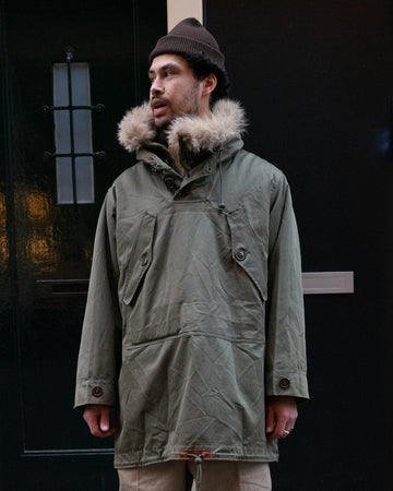 U.S. Army WW2 Pile Parka (XL)