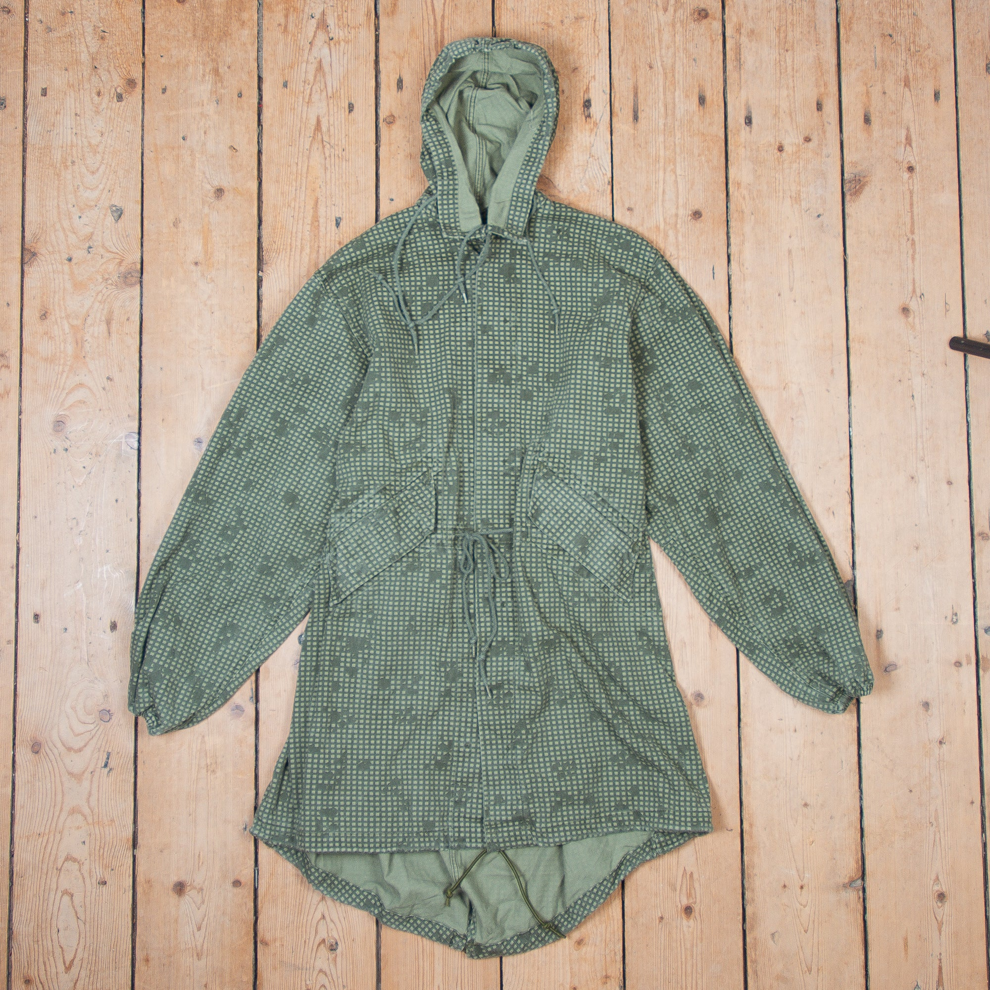 Night Camo Fish Tail Parka