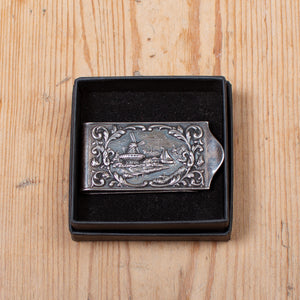 Dutch Scene Money Clip