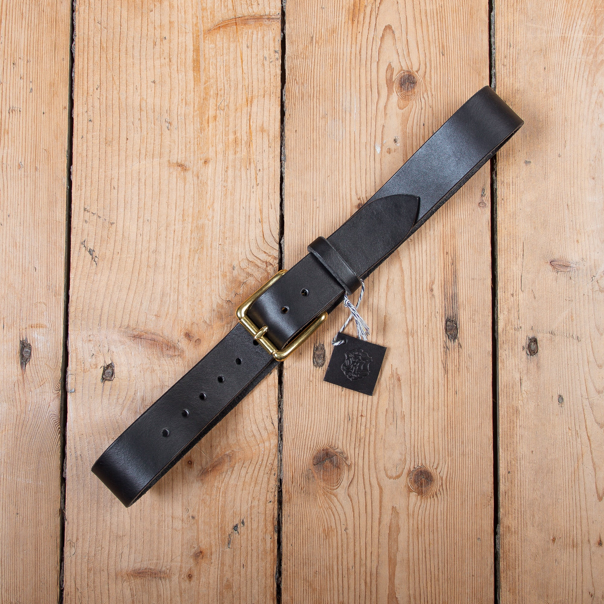 Sherriff and Punch Belt Black