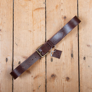 Sherriff and Punch Belt Brown