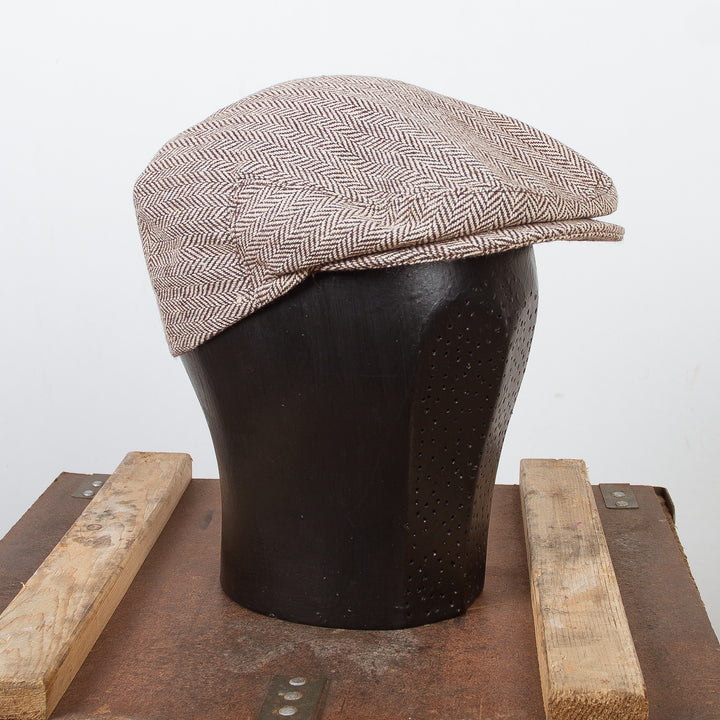 Flat Cap Brown Wool / Polyester
