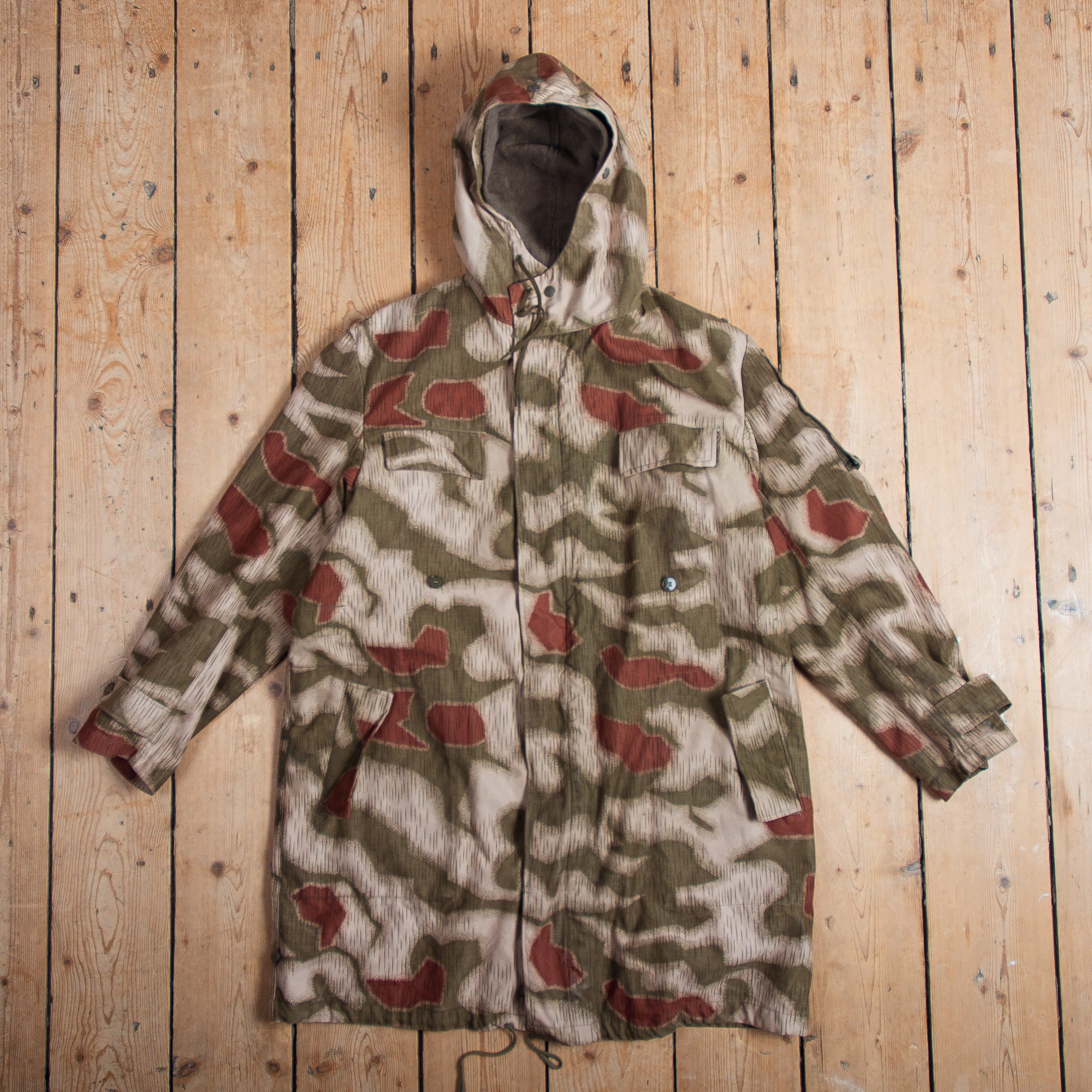 German Border Patrol Camo Parka