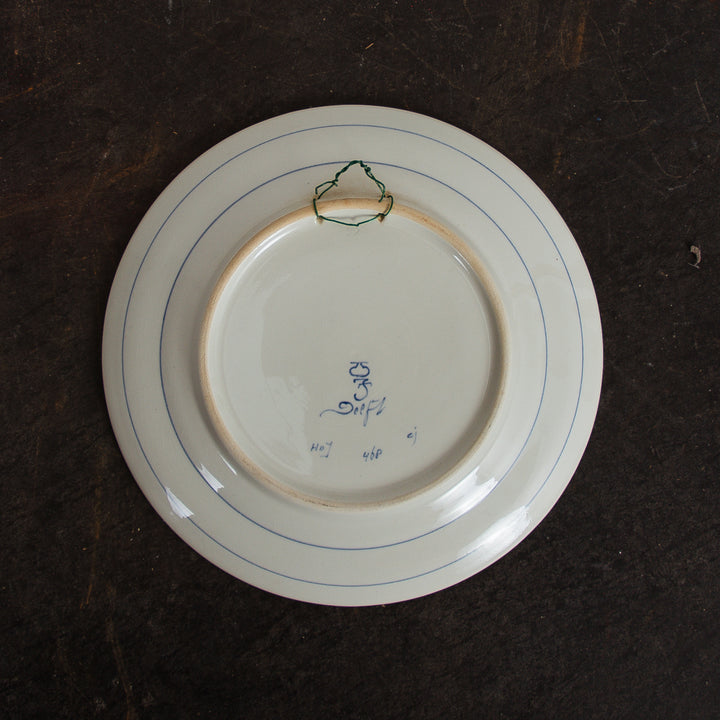 Delfts Blue Remembrance Plate
