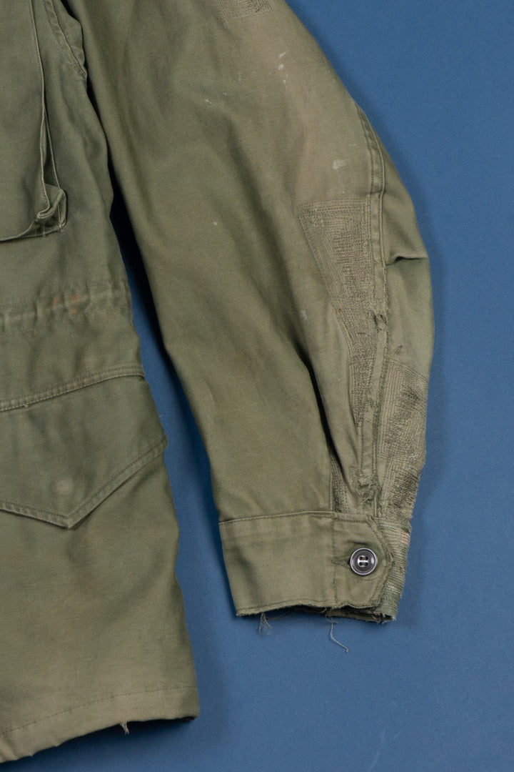 M-51 Field Jacket Repaired